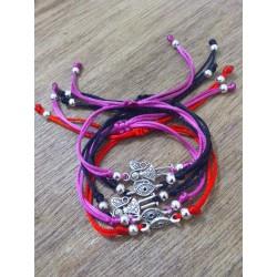 Evil eye and Angel bracelets